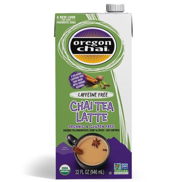 Oregon Chai Caffeine-Free Chai Tea Latte