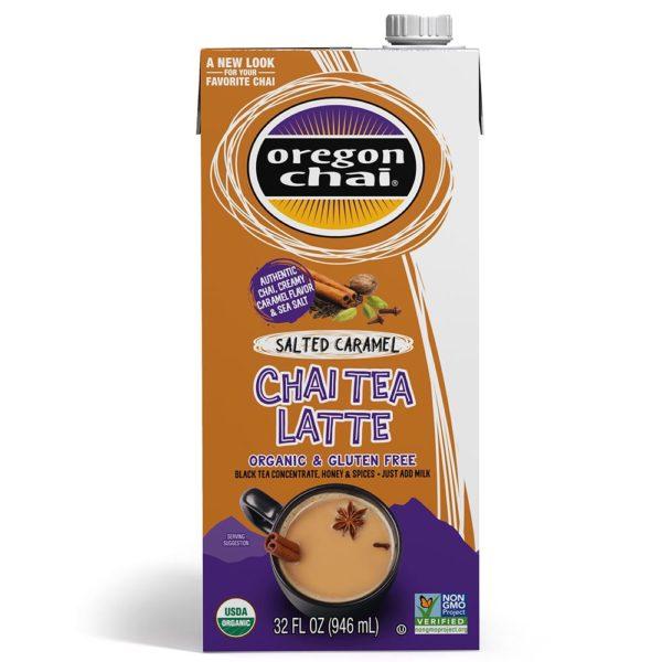 Oregon Chai Salted Caramel Chai Tea Latte