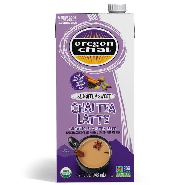 Oregon Chai Slightly Sweet Chai Tea Latte