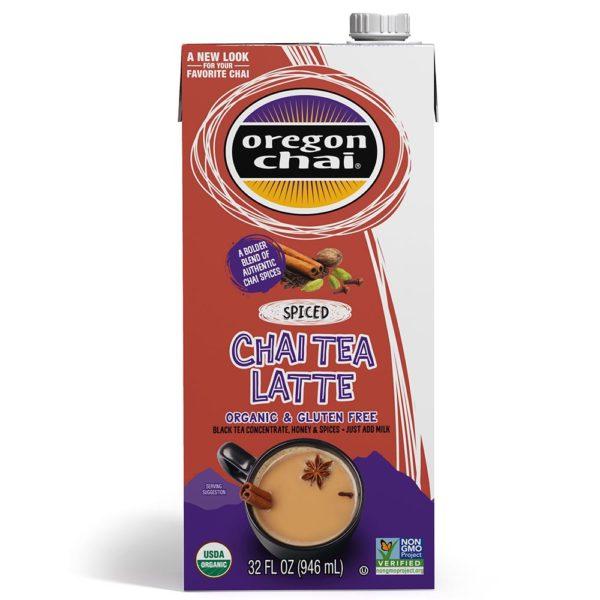 Oregon Chai Spiced Chai Tea Latte