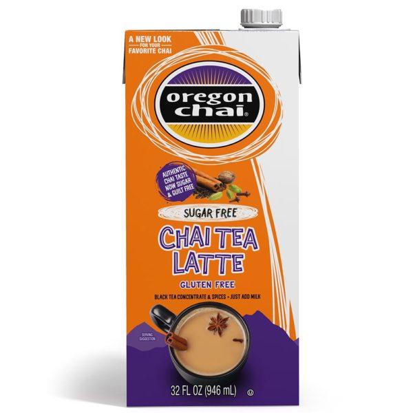 Oregon Chai Sugar-Free Chai Tea Latte
