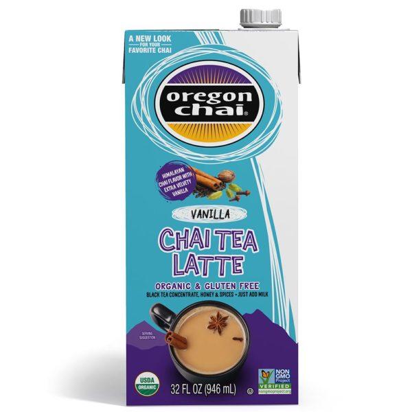 Oregon Chai Vanilla Chai Tea Latte