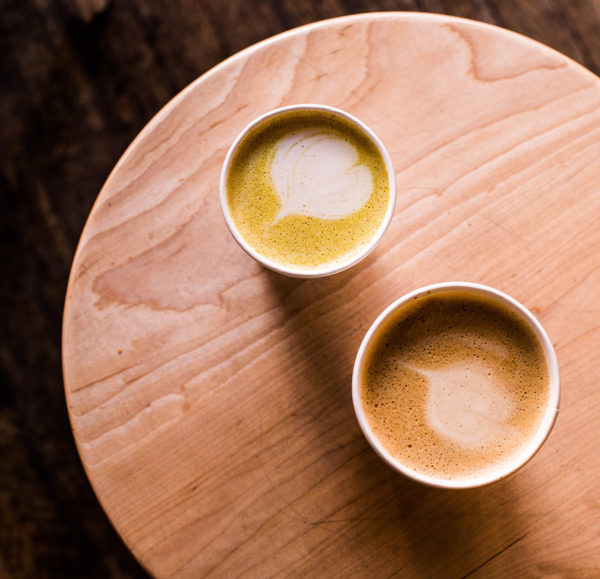 chai lattes with functional flavors