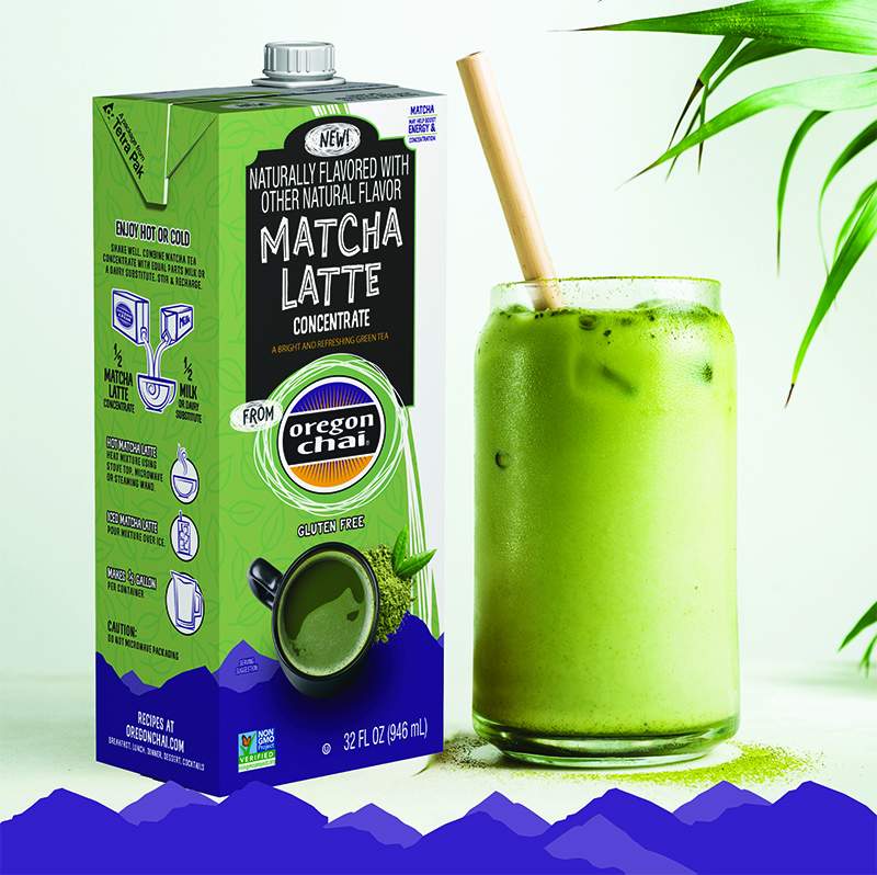matcha tea latte concentrate